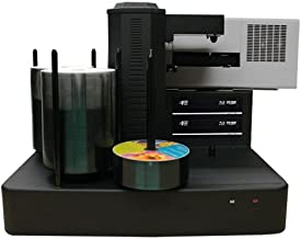 Cronus Automatic DVD CD Disc Ripping Station Data Archival System with Built-in PC (Blu-ray + 4 Burner (Plus) (500 Disc Capacity))