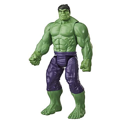Marvel Avengers Titan Hero Series Blast Gear Deluxe Hulk Action-Figur, 30 cm Spielzeug, inspiriert von Marvel Comics, für Kinder ab 4 Jahren