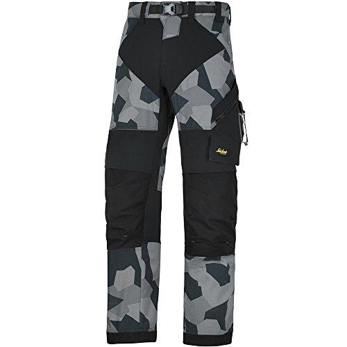 Pantaloni Snickers Workwear Flexi work, 1 pz, 46, Camouflage-grigio, 69038704046