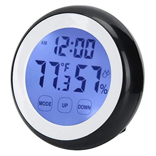 Zhat Reloj electrónico, Reloj, tamaño pequeño, fácil de Transportar, Uso, electrónico para el hogar para la Oficina en casa Reloj Digital Decoración para el hogar