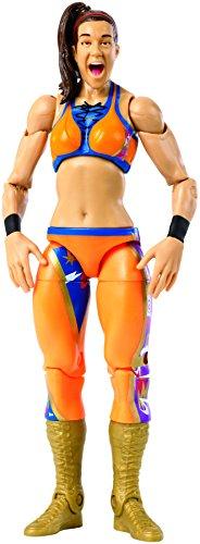 Mattel FMH55 WWE Bayley 15 cm Wrestlemania Figur, Spielzeug Actionfiguren ab 6 Jahren