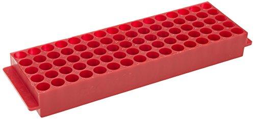 neoLab 2-2562 Top-Rack für 80 Reaktionsgefäße, 1,5 mL, Rot