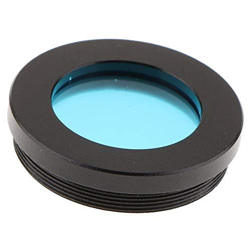 POFET - Filtro oculare per telescopio, con luna lunare, nebulosa e stella con dettagli più grandi sulla superficie del pianeta – blu