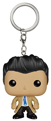 Funko 024606 POP Schlüsselanhänger Figur: Supernatural: Castiel