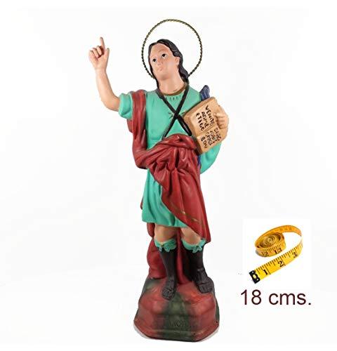 Heraldys.- Figura San Pancracio en Resina epoxi Pintada a Mano 18 cms.