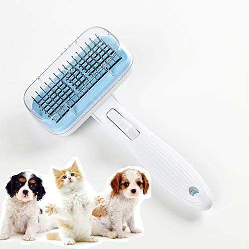 DGHJK Self Cleaning Slicker Brush, Dog Brushes for Grooming Large Dogs with Long Hair Efficient Pet Hair Removal Easily Groom Long Hair and Short Hair