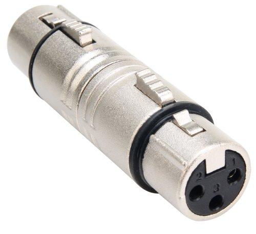 Pronomic AD-XFXF Adapter XLR weibl./ XLR weibl. (XLR Adapter Stecker female)