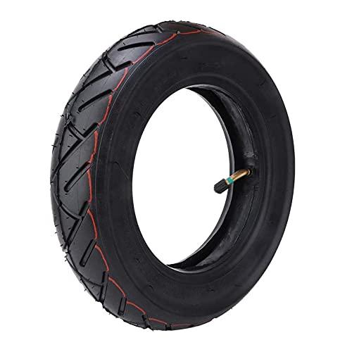JAJU Neumáticos inflables con Tubo Interior de 10 Pulgadas - Neumático Inflable con Tubo Interior Grueso, Resistente al Desgaste y a los pinchazos, neumático Exterior para Scooter eléctrico