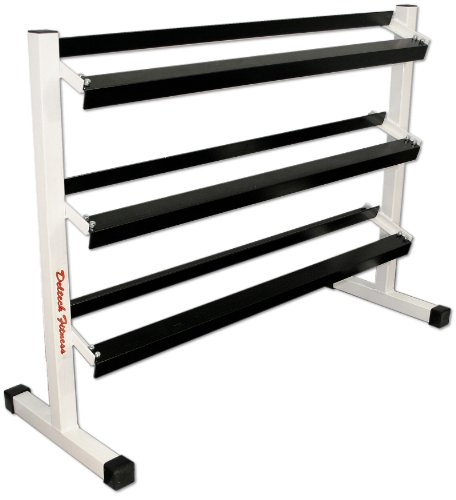 Deltech Fitness Three Tier 54' Dumbbell Rack