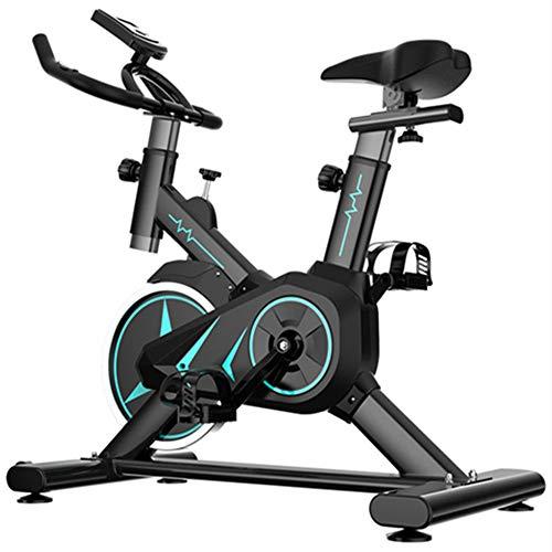 DJLOOKK Biciclette da Ciclismo Indoor, Cyclette con Resistenza Magnetica Regolabile, Cyclette, Spinning Bike, utilizzata per la Bicicletta da Allenamento Aerobica Domestica