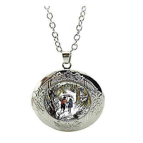 Narnia - Collar con medallón de Narnia