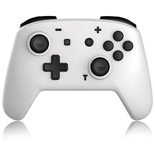 Switch Pro Controller für Nintendo Switch/Switch Lite, Wireless Gamepad Joypad Joystick mit Vibration Turbo Funktion und 6-Axis Gyrol