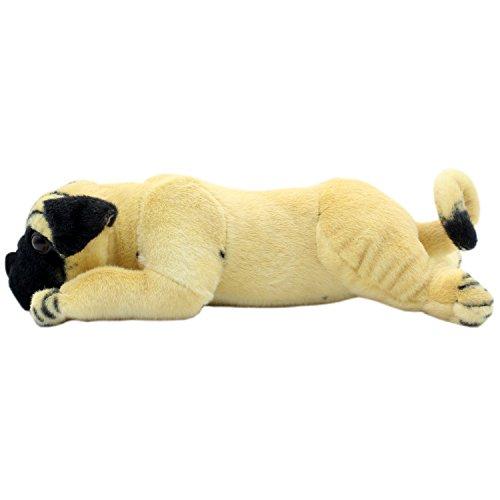 TAGLN Stuffed Animals Groveling Pug Dog Toys Plush 14 Inch