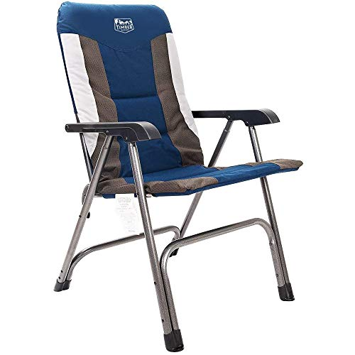 Timber Ridge Camping Folding Chair High Back Portable with...