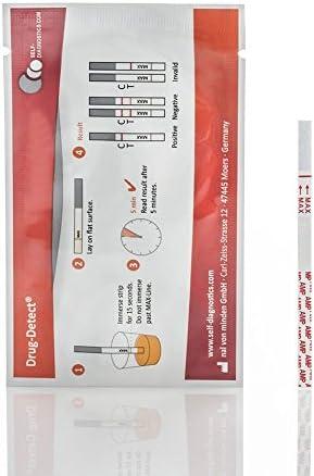 Test de orina para la detección de Anfetaminas - valor de corte 300ng/ml 10 tiras
