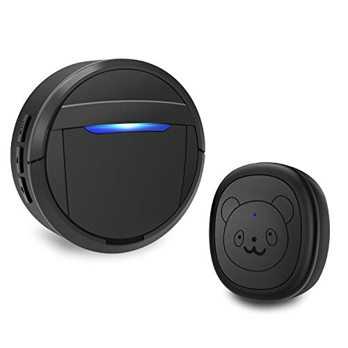 weird tails Wireless Doorbell, Dog Bells for Potty Training IP55 Waterproof Doorbell Chime Operating...