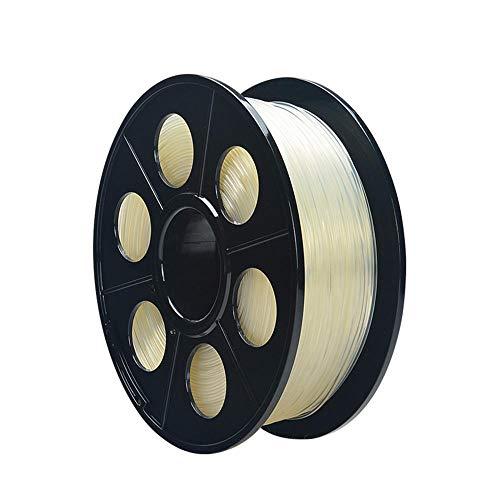 3D-Druckerfilament 1,75 mm, PA-Nylonfilament 1 kg, ± 0,02 mm-Transparent