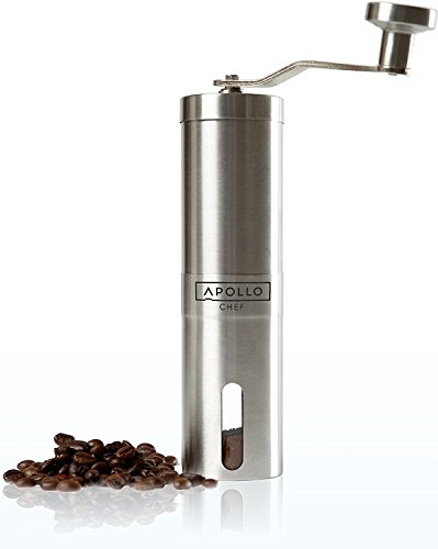 Manual Coffee Grinder, Burr Grinder for Coffee and Spice Seeds...