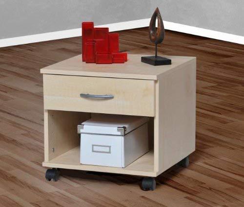 Möbeldesign Team 2000 Rollcontainer Bürocontainer Schubcontainer Nachtschrank ahorn -5