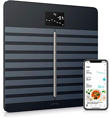 Withings/Nokia Body Cardio – Heart Health & Body Composition Digital Scale with smartphone app