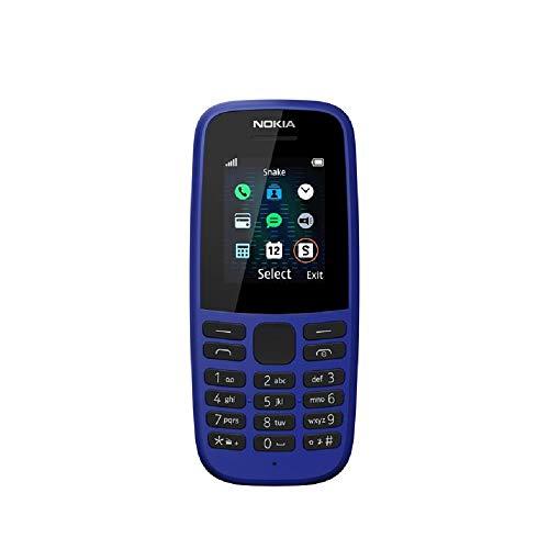 Nokia 105-2019 Dual Sim Blue (TA-1174), Versión extranjera, No tiene idioma español