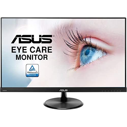 ASUS VC279HE 27'' Monitor, FHD, 1920 x 1080, IPS, Frameless, Flicker Free, Filtro Luce Blu, Certificazione TUV