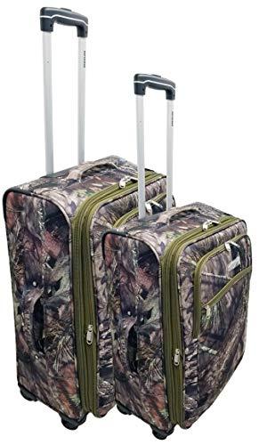 Explorer Luggage Set (2-Piece), 20 x 15 x 11-Inch/24 x 17 x 12-Inch, Mossy Oak