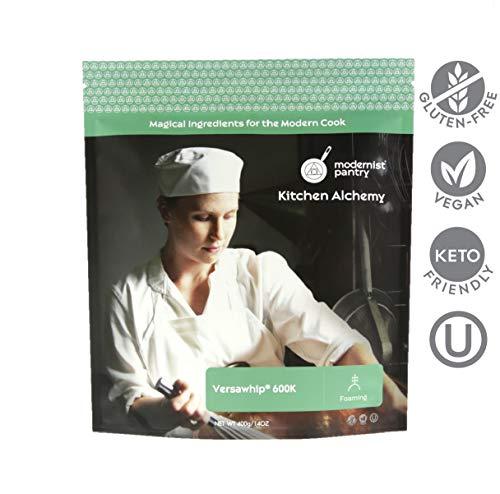Food Grade VersaWhip 600K (Molecular Gastronomy) ⊘ Non-GMO ☮ Vegan ✡ OU Kosher Certified - 400g/14oz
