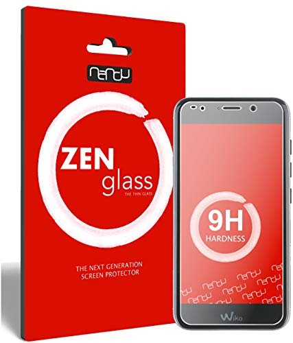 ZenGlass (2 Stück Flexible Glas-Folie kompatibel mit Wiko Wim Lite Panzerfolie I Bildschirm-Schutzfolie 9H I (Kleiner Als Das Gewölbte Bildschirm)