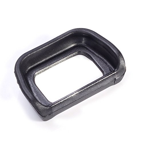 FocusFoto Eyecup Viewfinder Eyepiece Replace for FDA-EP10 Eye Cup fit for Sony NEX-6 NEX-7 A6300 ILCE-6300 A6000 ILCE-6000 Digital Camera & FDA-EV1S Black