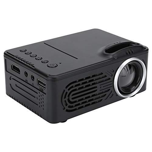 Dilwe Mini LED Proyector,HD Video Proyector de Rueda de Enfoque...