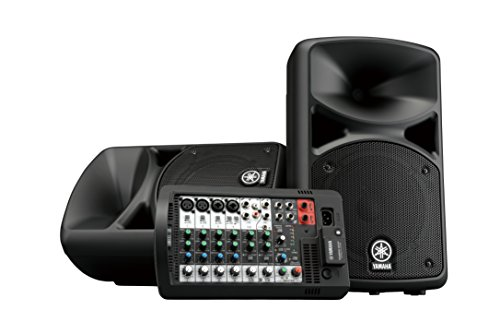 Yamaha Portable PA System with Bluetooth Stagepas 400BT , Black
