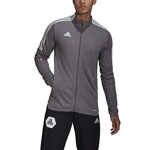 adidas mens Tiro 21 Track Jacket Team Grey X-Large