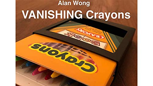 MJM Vanishing Crayons by Alan Wong - Trick
