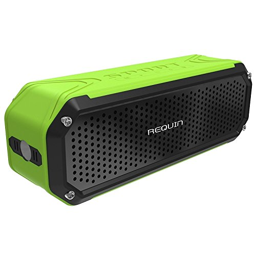 Cheapest Prices! REQUIN 5831270 Universal Wireless Portable Bluetooth Speaker with Bass Flashlight, ...