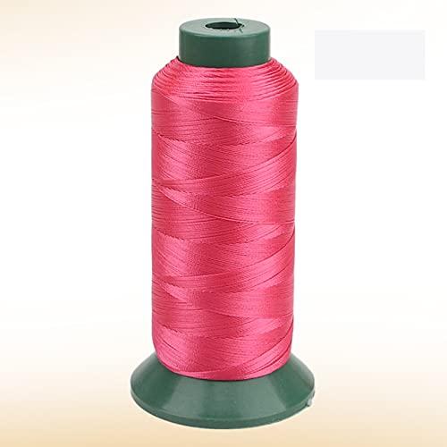 JKGHK Hilos De Coser Hilo De Poliéster para Coser Y Tejer, Adecuado para Coser Ropa, Hay 10 Colores para Elegir,Rose Red