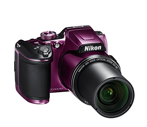 NikonデジタルカメラCOOLPIXB500光学40倍ズーム1602万画素単三電池プラムB500PU