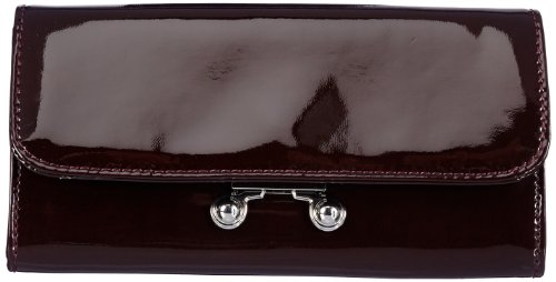 Mexx Herren 13haw203 Retro Modern Flap Wallet Geldbörsen, Violett (Opulent Berry), 19x10x2 cm