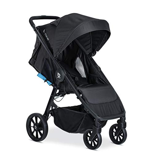 Image of Britax B-Clever Stroller - Up to 50 Pounds - Cool Flow Ventilated Fabric, Teal
