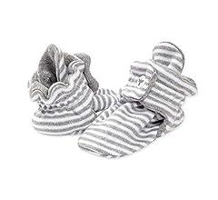 Unisex Baby Booties, Organic Cotton