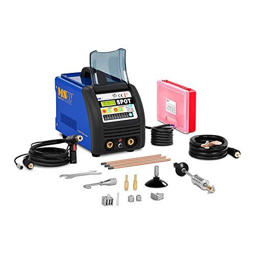 MSW S-Spotter 3500 Soldadora por Puntos Spotter Car (3.500 A, 400 V, Pantalla Digital, Ajustes Automáticos/Manuales, Tiempo de Soldadura 0–99 ms, 10 Funciones Preestablecidas)