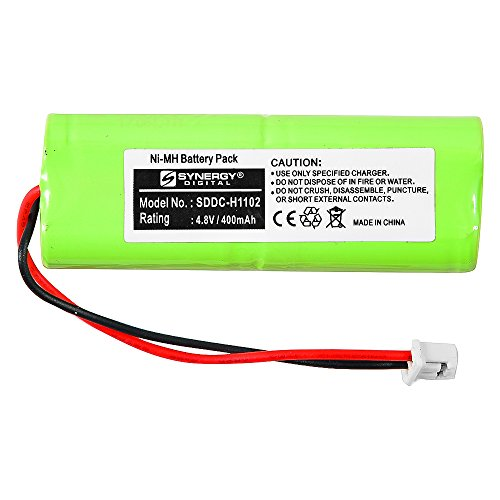 Synergy Digital OEM Battery, Replacement battery works for Dogtra BP12RT OEM (Ni-MH, 4.8V, 400 mAh) - Compatible with GP 28AAAM4SMX, 40AAAM4SMX, Mighty Pets BP-12, Sanik 4SN-2/3AAA40H-H-XA1