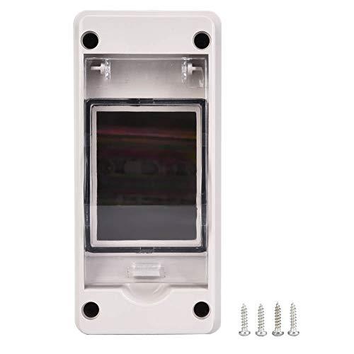 Caja de conexiones Caja de instrumentos de distribución de equipos eléctricos Protección IP33 con tapa transparente