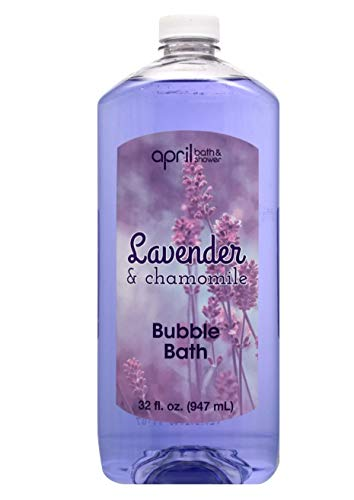April Bath & Shower Lavender and Chamomile Bubble Bath 32 fl oz (Packaging may vary)
