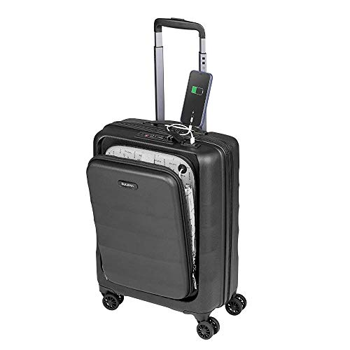 Cabin Luggage Ryanair 55x40x20 cm SULEMA, Hand Luggage, Lightweight, Hard Shell and Resistant ABS with 4 Double Wheels 360º, TSA Lock USB and Laptop Pocket Hand