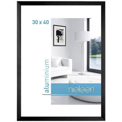 Bilderrahmen Cristal Farbe: Florentiner Schwarz, Größe (Bild): 40 cm H x 30 cm B