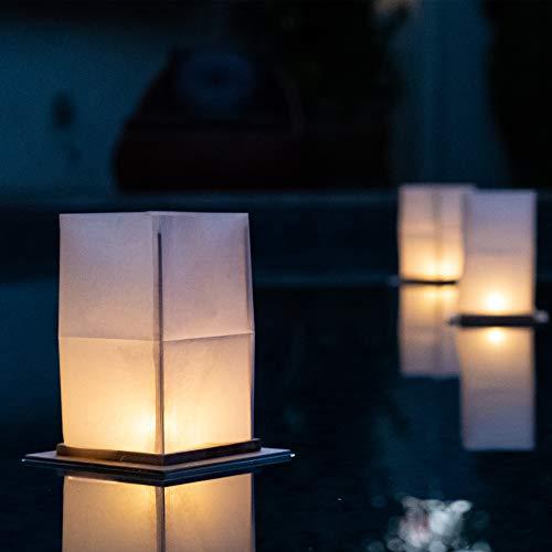 floating lanterns water - 6