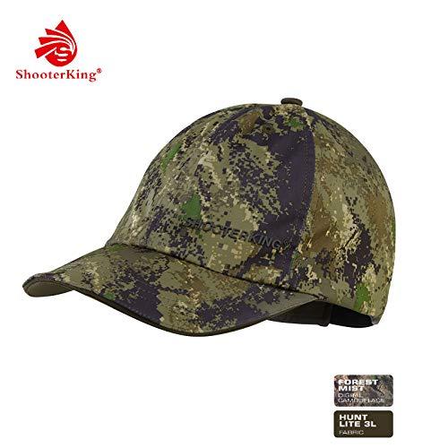 Shooterking Huntflex - Gorra de caza para hombre