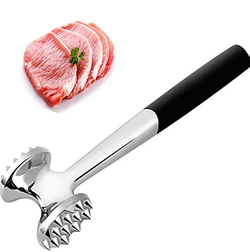 Meat Tenderizer Meat Hammer Mallet Tool Pounder For Tenderizing Steak Beef Chicken Pork Lamb Stainless Steel Kitchen Cooking Tools