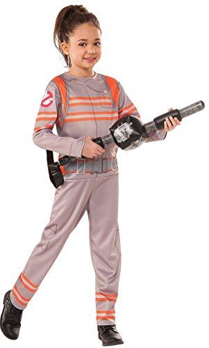 Rubies Officielle Ghostbusters Filles Costume Combinaison avec Motif Baguette Magique Gonflable Proton – 2016 – Enfant Petit